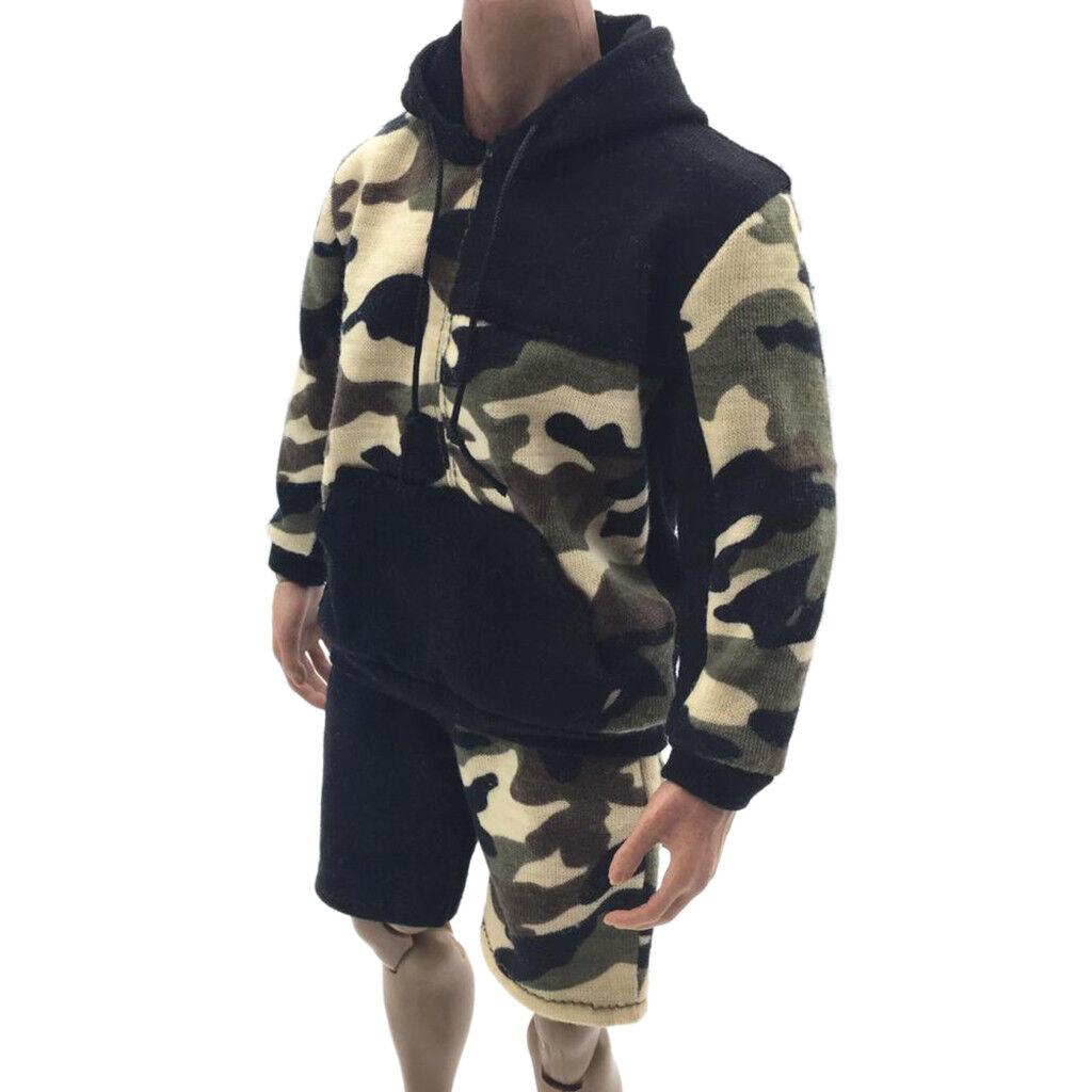 1 6 Sweatshirt Hose Bekleidung für 12 Zoll Männliche Action Figur,