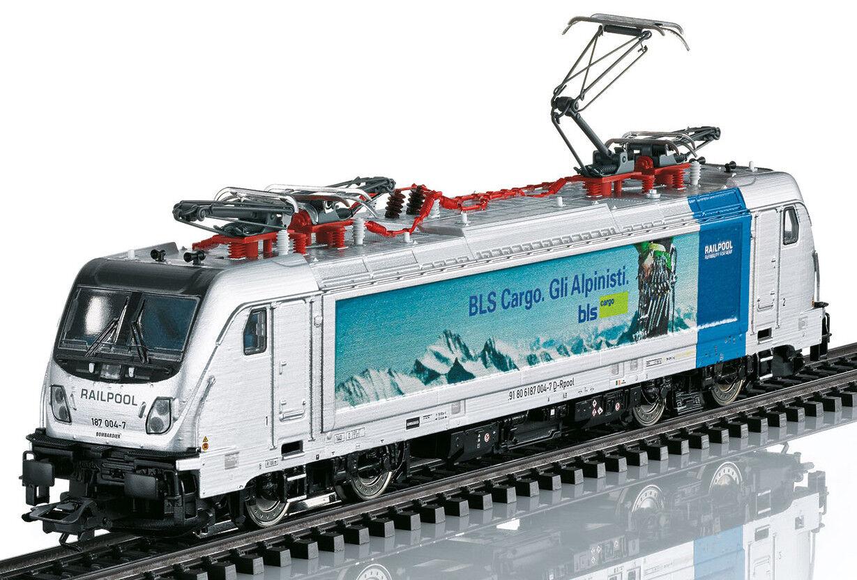 h0 36631 elektrolokomotive serie siano 187.0 della RAILPOOL GmbH