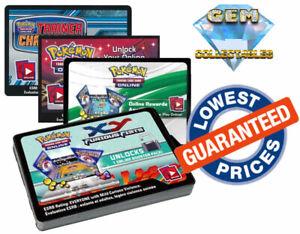 10x Rebel Clash Sword /& Shield Pokemon TCGO Boosters SWSH Online TCG Code Cards