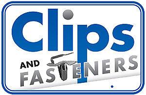 Clipsandfasteners Inc 100 U Nuts 1//4-20 Machine Screw Size .064-.125 Range
