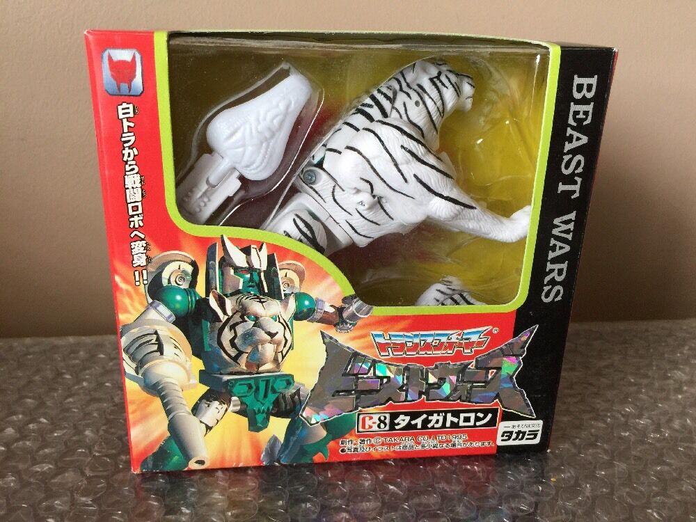Takara 1995 Transformers Beast guerras  Tron cifra  C-8