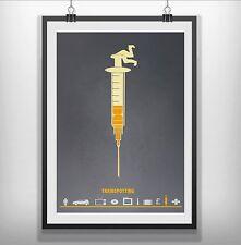 Trainspotting Minimalist Minimal Film Movie Poster Print