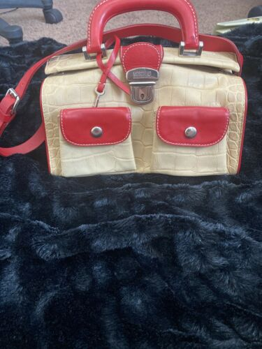 MOSCHINO CHEAP AND CHIC DOCTOR BAG SATCHEL VINTAGE
