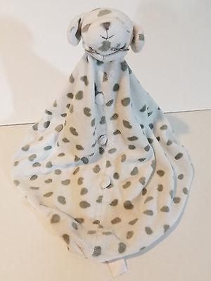 Angel Dear Girl Boy Dalmatian White Gray Spots Puppy Security Blanket Lovey Uni