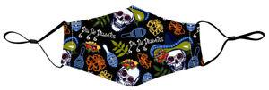 Halloween-Masque-Tissu-Tete-de-Mort-Reutilisable-Lavable-Reglables-Poche-Filtre