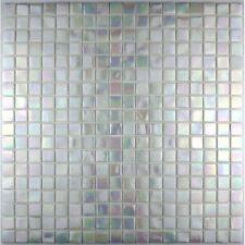 mosaique salle de bain et douche pate de verre RAINBOW ICE