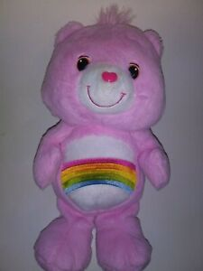 Care-Bears-Pink-Cheer-Bear-13-034-Plush-Stuffed-Animal