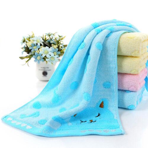 4Colors Baby Infant Newborn Soft Bath Towel Washcloth Bathing Feeding Wipe Cloth