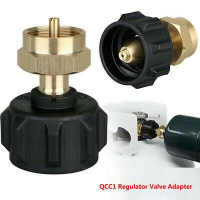 QCC1 Regulator Valve Propane Refill Adapter LP Gas Coupler LB Cylinder Tank T6V6