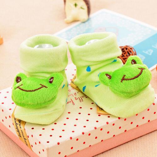Cute Cartoon Animal Socks for Baby Anti Skid Baby Socks Cotton Breathable 1 Pair
