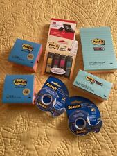 3 M Paper Products Lot Of 8 New