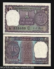 INDIA 1 RUPEE P77g 77h 77i 1970 1971 COIN UNC CURRENCY MONEY BILL ONE PIECE NOTE