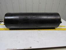 "Vulcanized Rubber Conveyor Roller 8"" Dia 27"" OAL 1-7/16"" Shaft w/ Bearings"