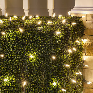 200 288 led net lights wedding party christmas outdoor indoor 25x2 image is loading 200 288 led net lights wedding party christmas aloadofball Image collections