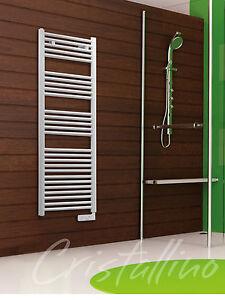 Termoarredo scaldasalviette elettrico per bagno bianco ebay - Termoarredo per bagno ...