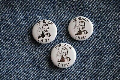 """Vote Republican Pro Donald TRUMP 2020 Pin Pinback Button 1/"""" MAGA RED WAVE"""