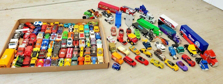 alta calidad y envío rápido Hot Wheels Matchbox Lote De 120 120 120 Autos camiones 1 64 Diecast Suelto  Seleccione de las marcas más nuevas como