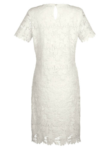 taille 46 051757464 0 Marques Robe blanc avec dentelle noble taille 40