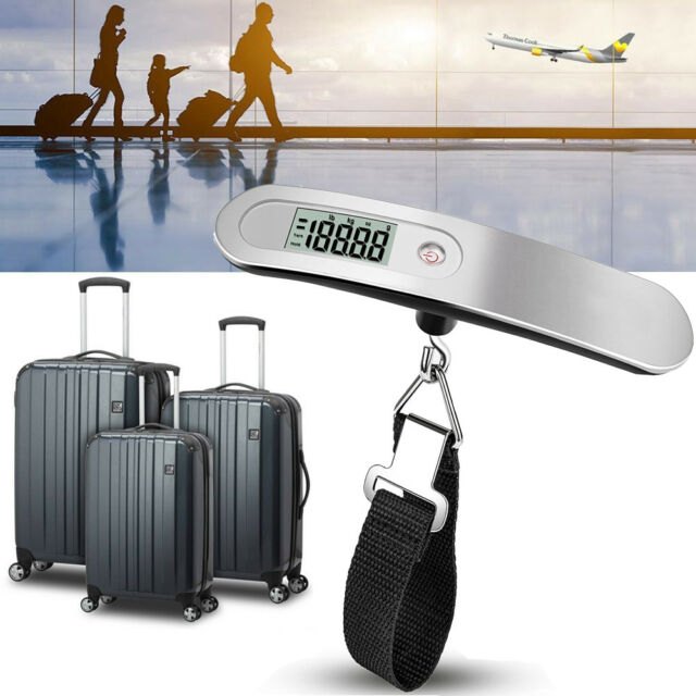 Portable Scale Stainless Steel Digital Travel Scale 110 lb/ 50KG for Luggage