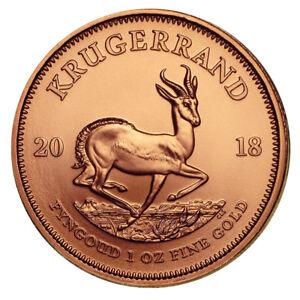 1 oz Gold Krügerrand 2018 - Das Original - 15 Euro Rabatt ab 3 Stück
