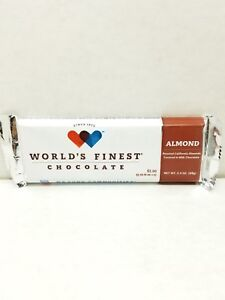 Worlds Finest Chocolate Almond Bars The Big Bars Ebay