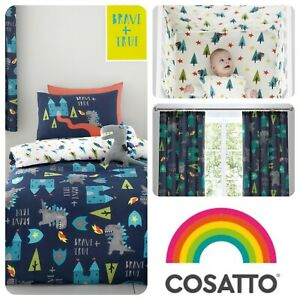 Cosatto-DRAGON-KINGDOM-Childrens-Baby-Bedroom-Set-Sleeping-Bag-Duvet-Cover-Set