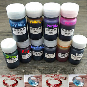 10-Bottles-10G-Epoxy-Mix-Color-UV-Resin-Coloring-Dye-Colorant-Pigment-Crafts-DIY