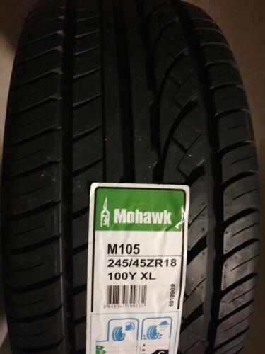 NUOVO Mohawk M105 Sport by Hankook qualità auto pneumatici 245//45//18 XL 100Y 245 45 18