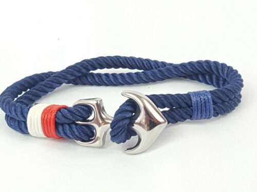NEU Surferarmband Herren Armband Bracelet Anker Armschmuck Armkordel Maritim