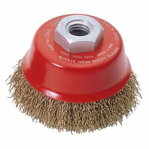 Draper-Expert-60mm-x-M14-Crimped-Wire-Cup-Brush-For-Angle-Grinder-52635