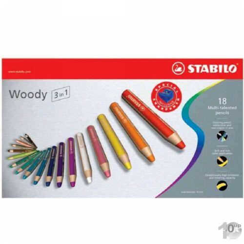 18er Karton-Etui Woody STABILO Multitalentstift woody 3 in 1