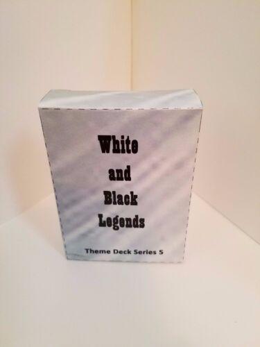 Black /& White Legends Magic the Gathering MTG Modern  /& Theme Decks