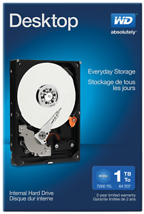 NEW 1TB SATA Hard Drive for Dell XPS 8500 with Windows 7 Professional 64 Loaded