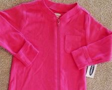 SWEET! NEW BABY OLD NAVY 3-6 MONTH PINK FOOTED SLEEP N PLAY OUTFIT