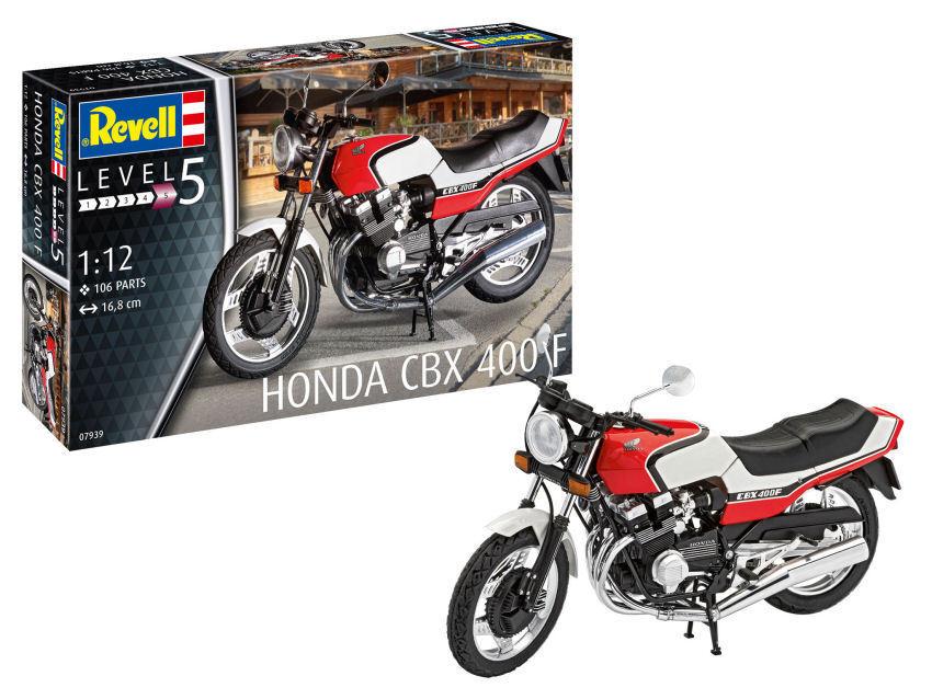Honda Cbx 400 F Motorbike Plastic Kit 1 12 Model 07939 REVELL