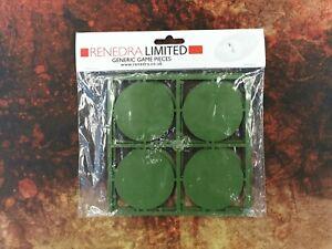60mm Figure Bases - 8 bases - Renedra