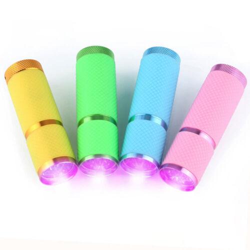 NEW UV Ultra Violet Light Torch 9LED Flashlight Mini Blacklight Torch Lamp