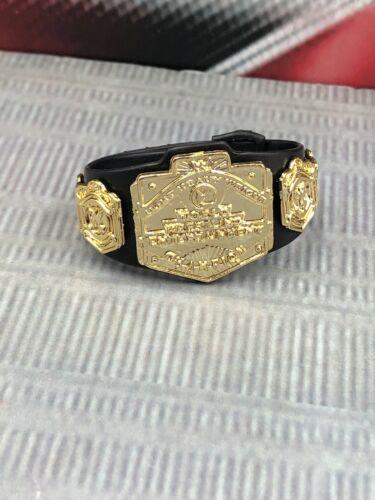 "WWE Light Heavyweight Championship for 7"" Mattel Jakks Wrestling Figures WWF NXT"