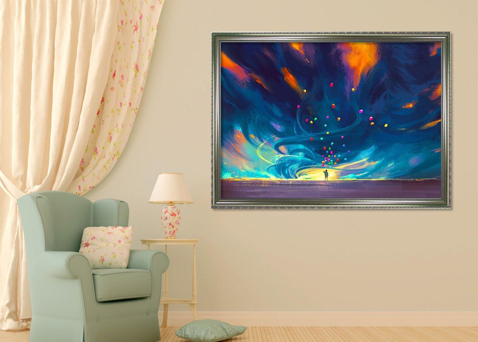 3D Starry Sky 6 Framed Poster Home Decor Print Painting Art AJ WALLPAPER AU
