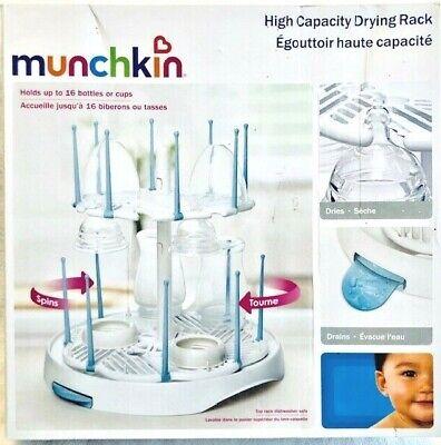Bottle Drying Rack Munchkin High Capacity Dryer Nursing Newborn/infant/baby High Resilience