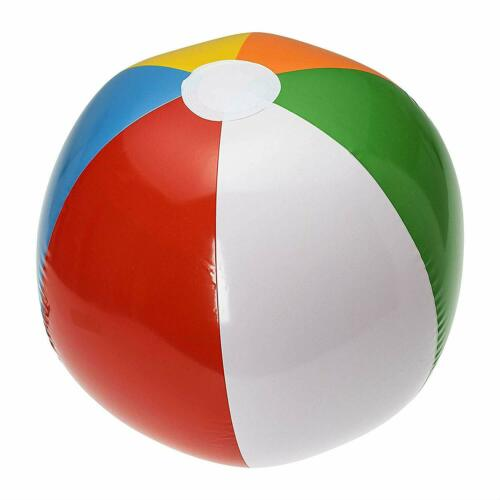 Pool Toy Inflatable Giant Beach Ball  30-Inch One or Two Pack Kids Play Fun