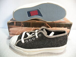 420b9ffb3c20 CONVERSE JACK PURCELL WOOL VINTAGE MADE IN USA MEN 3   WOMEN 5 SHOES ...
