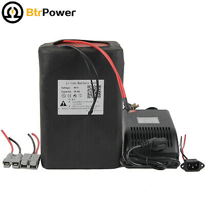 48V18ah Lithium Li-ion Rechargeable Battery Pack 1000W Electric Bicycle Charger