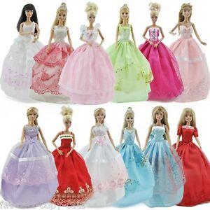 1x-poupee-Barbie-Sindy-longue-partie-robe-de-Fee-ou-Princesse-Robe-de-bal-amp-1-paire-de-chaussures