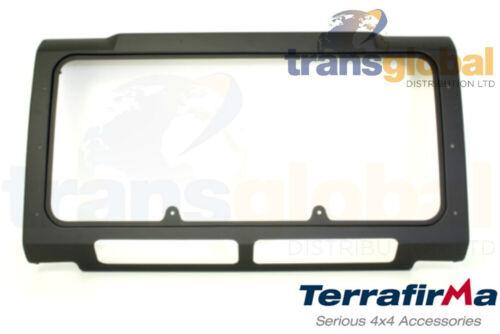 MATT Black Griglia Pannello Per Land Rover Defender W ARIA CONDIZIONATA terraferma TF275