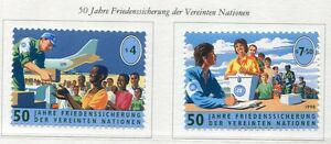19430A-UNITED-NATIONS-Vienna-1998-MNH-Nuovi-UN-volunteers