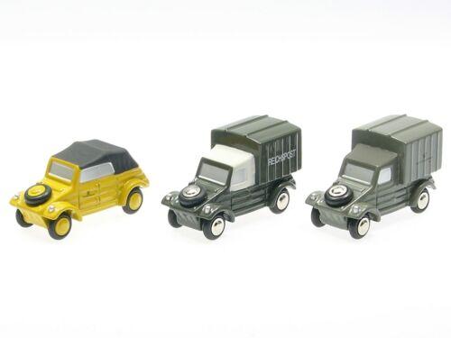 "Schuco Piccolo Set /""Post Edition 2003/"" 3 x VW Kübelwagen # 50171025"