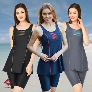 excellent quality well known 50% off AlHamra AL3056 Capri Women's Modest Swimwear Swimsuit Swim Clothes ...