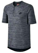 NSW Black Tech Knit Polo Shirt