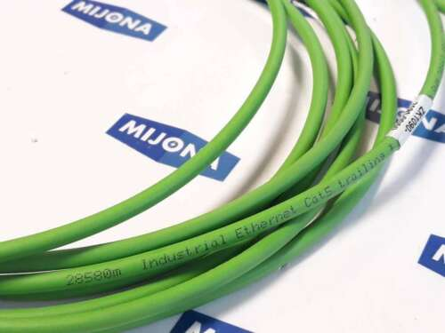Beckhoff ZK1090 3191 0050 M8 4PIN CABLE L=5M 069443 NEW OLD STOCK